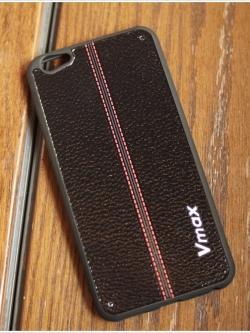 Vivo V5 / V5s - เคส TPU ลายหนังดำตัดแดง VMAX