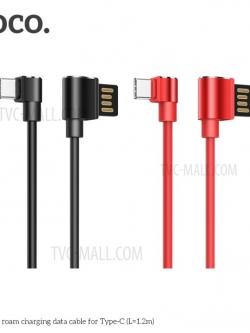 HOCO U37 สายชาร์จ Long Roam Data Cable (Type-C / Android) แท้