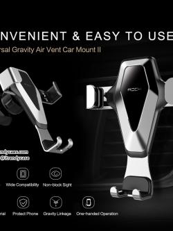 ROCK Universal Gravity Air Vent Car Mount (รุ่น2) ที่ตั้งมือถือ แบบเสียงช่องแอร์ในรถ แท้