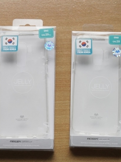 Samsung S9 Plus - เคสใส TPU Mercury Jelly Case แท้