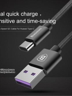 Baseus สายชาร์จ Speed Cable 5A MAX (USB Type-C / Android) แท้