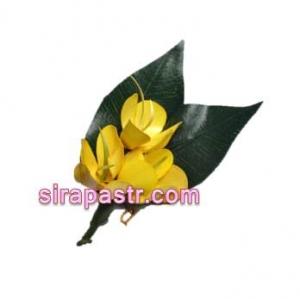 ดอกราชพฤกษ์-ประเทศไทย (ช่อดอกไม้ติดเสื้อ) **สินค้าจำนวนจำกัด**