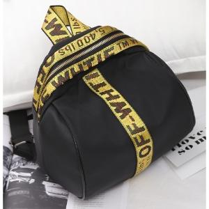 J14 กระเป๋าสายคาด สีเหลือง