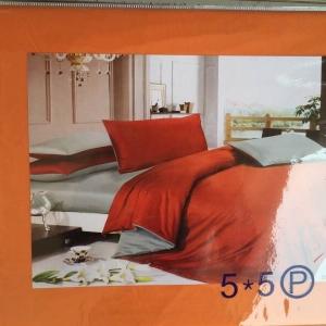 ผ้าปูที่นอน สีพื้น เกรดA 5ฟุต 5ชิ้น คละลาย ชุดละ 160 บาท ส่ง 40ชุด