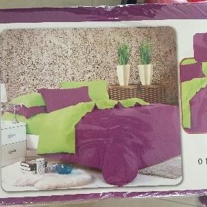 ผ้าปูที่นอน สีพื้น เกรดA 3.5ฟุต 3ชิ้น คละสี ชุดละ 150 บาท ส่ง 40ชุด
