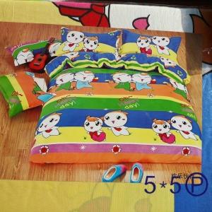 ผ้าปูที่นอน คละลาย การ์ตูน เกรดB 6ฟุต 5ชิ้น คละลาย ชุดละ 140 บาท ส่ง 40 ชุด