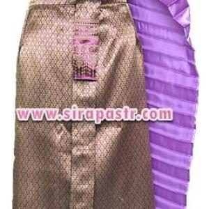 """ชุดไทย A5 (สไบโบราณ+ผ้าถุงฯเอวใส่ได้ถึง 32"""") *รายละเอียดในหน้าสินค้า"""