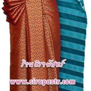 ชุดผ้าไทย TB-6 (สไบ+ผ้าฯ*แบบจับสด) *รายละเอียดในหน้าสินค้า