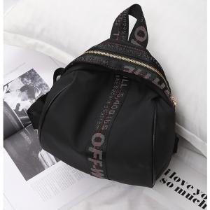 J14 กระเป๋าสายคาด สีดำ