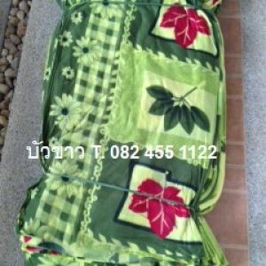 ผ้าห่มสำลี 6ฟุต คละลาย ผืนละ 67บาท ส่ง 120ผืน