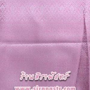 ผ้าลายไทย 6A สีชมพู (*รายละเอียดตามหน้าสินค้า)