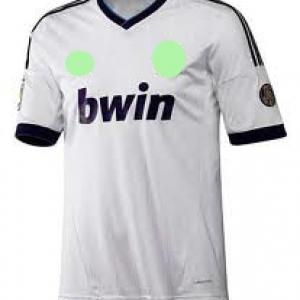 เสื้อทีมเหย้า Real Madrid 2012 - 2013