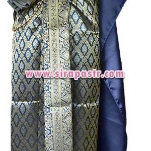 ชุดผ้าไทย BB สีกรมท่า (สไบ+ผ้าฯยาว 4 หลา*แบบจับสด) รายละเอียดในหน้าสินค้า