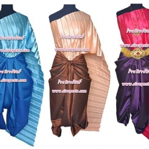 ชุดผ้าไทย R4-2 (สไบฯ+ผ้าฯ) *แบบจับสด / รายละเอียดในหน้าสินค้า