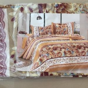 ผ้าปูที่นอน โพลี 3.5ฟุต 3ชิ้น คละลาย ชุดละ 77 บาท ส่ง 100ชุด