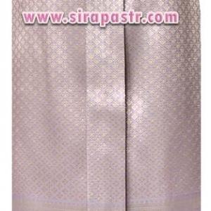 """ผ้าถุงป้าย-หน้านาง NPA-2 สีม่วง (เอวใส่ได้ถึง 28"""") *แบบสำเร็จรูป-รายละเอียดตามหน้าสินค้า"""