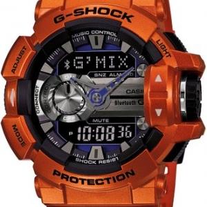 ขาย นาฬิกา G-SHOCK รุ่น G'MIX GBA-400-4B ของแท้ สีส้มชา