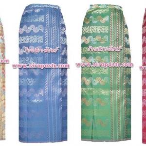 """ผ้าถุงป้ายฯ-พม่า C1 (เอวใส่ได้ถึง 34"""") *รายละเอียดตามหน้าสินค้า /เลือกแบบ"""