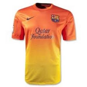 เสื้อทีมเยือน Barcelona 2012 - 2013