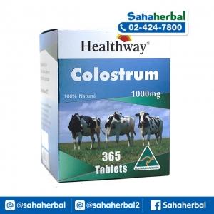 Healthway Colostrum 1000 mg. นมอัดเม็ดเพิ่มความสูง เฮลท์เวย์ SALE 60-80% ฟรีของแถมทุกรายการ