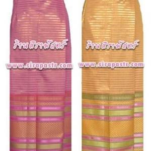 """ผ้าถุงป้ายข้างฯ N1 (เอวใส่ได้ถึง 38"""") *ตามรายละเอียดสินค้าในหน้าฯ"""