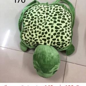 หมอนผ้าห่ม เต่า ตัวละ 140บ ส่ง 100ตัว