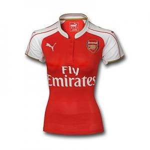 เสื้อบอลผู้หญิงทีมเหย้า Arsenal 2015 - 2016