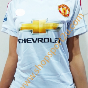 เสื้อบอลผู้หญิงทีมเยือน แมนยู 2015 - 2016