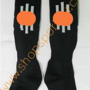 ถุงเท้า ad....s ดำ-ขาว