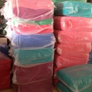 ผ้าขนหนู Cotton100% ผ้าเช็ดตัว สีเข้ม 11.5ปอนด์ คละสี 30*60นิ้ว โหลละ 1495บาท ส่ง 10โหล