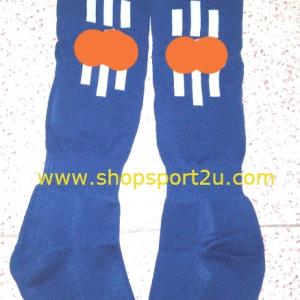 ถุงเท้า ad....s น้ำเงิน