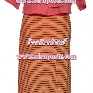 ชุดภาคเหนือ N-F2 สีแดง (*รายละเอียดในหน้าสินค้า)