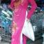 ชุดเวียดนามหญิง ลายดอกโบตั๋น (ส่งฟรี EMS) thumbnail 5