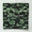 ผ้าพันคอ ผ้าโพกหัว ลายทหาร สีเขียว ผืนใหญ่ thumbnail 2