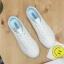 รองเท้าผ้าใบหนังนิ่มปักแมวด้านหลัง ได้เชือก 2 สี [พร้อมส่ง] thumbnail 5