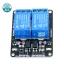 บอร์ด Relay 2 ช่อง 5 โวลต์ 10A 250V Active LOW สำหรับ Arduino และ Microcontroller thumbnail 2