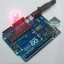 LED 8MM red 0.5W หลอดไฟ LED 8mm สีแดง 0.5W จำนวน 5 ดวง thumbnail 2