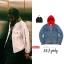 (จำนวนจำกัด) Jacket Supreme X Denim Hooded 17ss -ระบุสี/ไซต์- thumbnail 1