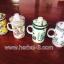 ถ้วยแก้วเซรามิค กรองชา+ชงชา แบบคลาสสิค พร้อมที่กรองชา thumbnail 5