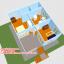 บ้านโมบาย ขนาด 6*7 ระเบียง 3*3 เมตร +ยกสูง 2 เมตร (1ห้องนอน 2ห้องน้ำ 1ห้องรับเเขก 1ห้องครัว) thumbnail 3