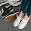 รองเท้าผ้าใบหนังนิ่ม (พร้อมส่ง) thumbnail 1