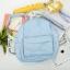 กระเป๋าเป้ UNION OBJET สีฟ้า thumbnail 1