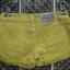 กางเกงยีนส์ขาสั้น สีเหลืองสวยสดใส ขอบกางเกงด้านในปัก vintage เก่ไก๋สไลเดอร์ thumbnail 3
