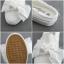 รองเท้าผ้าใบเปิดส้นแต่งโบว์ด้านบน BEIER thumbnail 8