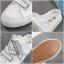 รองเท้าผ้าใบเปิดส้นผูกริบบิ้น P27 thumbnail 5