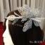 MAI05 มงกุฎผีเสื้อตัวใหญ่สีเงิน (งาน handmade)**สินค้ามีจำกัดในเเต่ละล๊อต** thumbnail 5