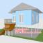 บ้านโมบาย ขนาด 6*7 ระเบียง 3*3 เมตร +ยกสูง 2 เมตร (1ห้องนอน 2ห้องน้ำ 1ห้องรับเเขก 1ห้องครัว) thumbnail 7