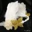 MAI16 มงกุฎขนนกขาว ผี้เสื้อทอง (งาน handmade)**สินค้ามีจำกัด** thumbnail 3