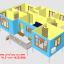 CD01 บ้านตัวอย่าง 11*6.5 เมตร 4 ห้องนอน 3 ห้องน้ำ 1 ห้องนั่งเล่น 1 ห้องครัว 768,000 บาท เพิ่มระเบียงหลังคาคลุม 2*4 ราคา 68,000 รวม 835,000 บาท thumbnail 5
