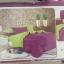 ผ้าปูที่นอน สีพื้น เกรดA 3.5ฟุต 3ชิ้น คละสี ชุดละ 145 บาท ส่ง 40ชุด thumbnail 1
